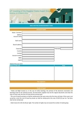reimbursement form 1