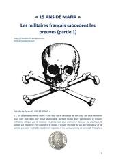 Fichier PDF 15 ans de mafia les militaires saborent les preuves