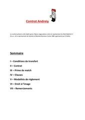contrat andreiy