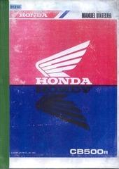 manuel atelier cb500 1993 complet