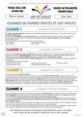 Fichier PDF flyer papiers et tirages 1