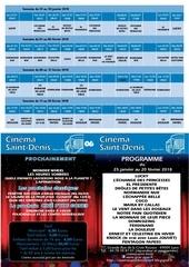 cinema saint denis 25 janvier au 20 fevrier 2018