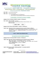 programme sism aix 2018