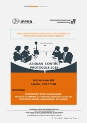 abidjan contact protocole 2018 edition 3