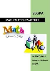 mathematiques atelier