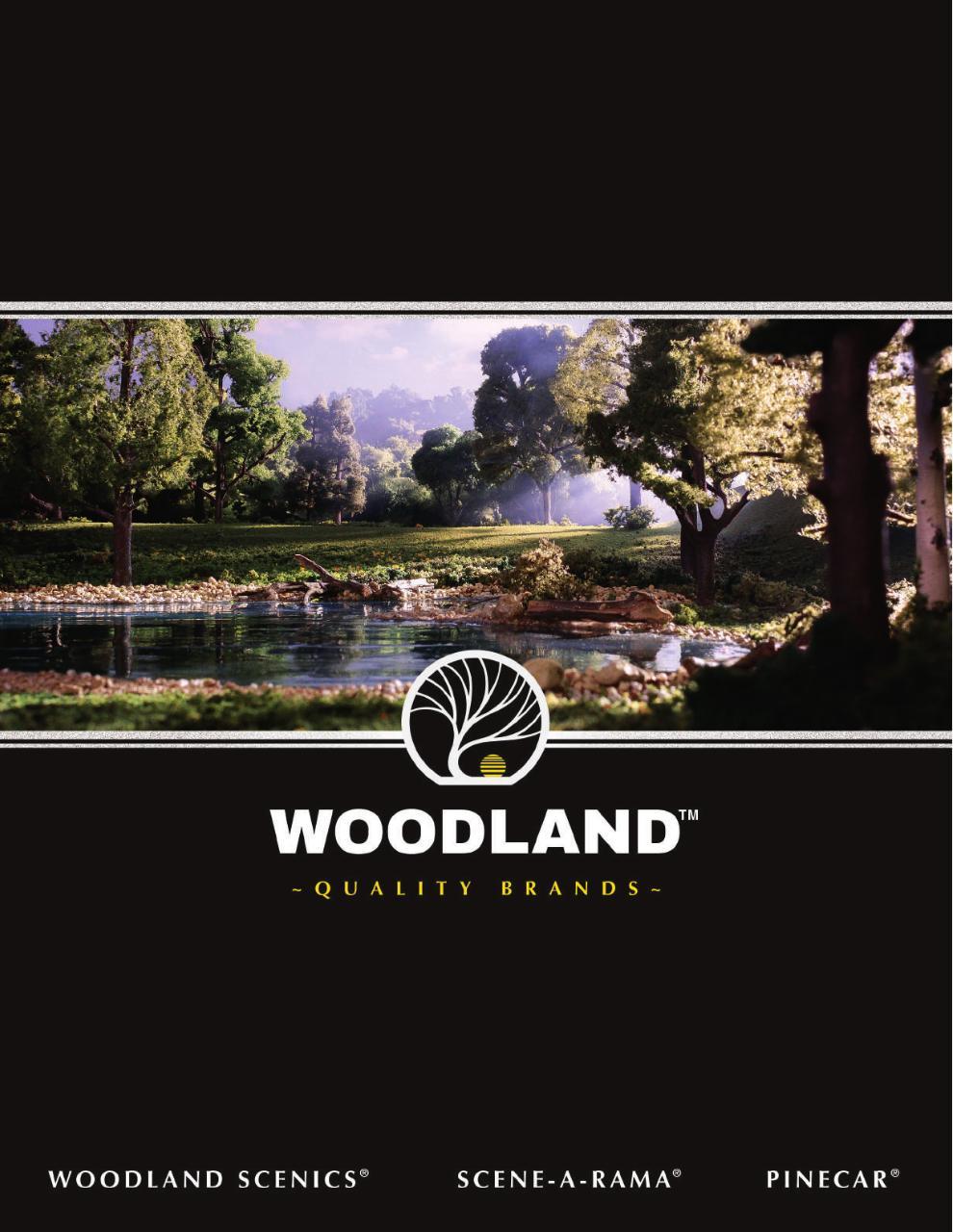 x12 Woodland Scenics ST1473 Track Bed Strips O Gauge