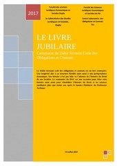 jubilaire ouvrage
