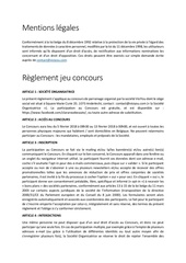 Fichier PDF mentions legales reglement clara rose beaute