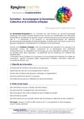 programme dynamique collective