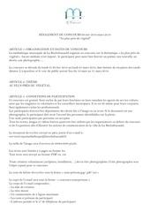 Fichier PDF reglement concours vegetal