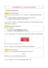 chapitre ii les fractions 1