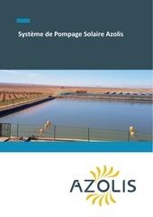 systeme de pompage solaire azolis case study