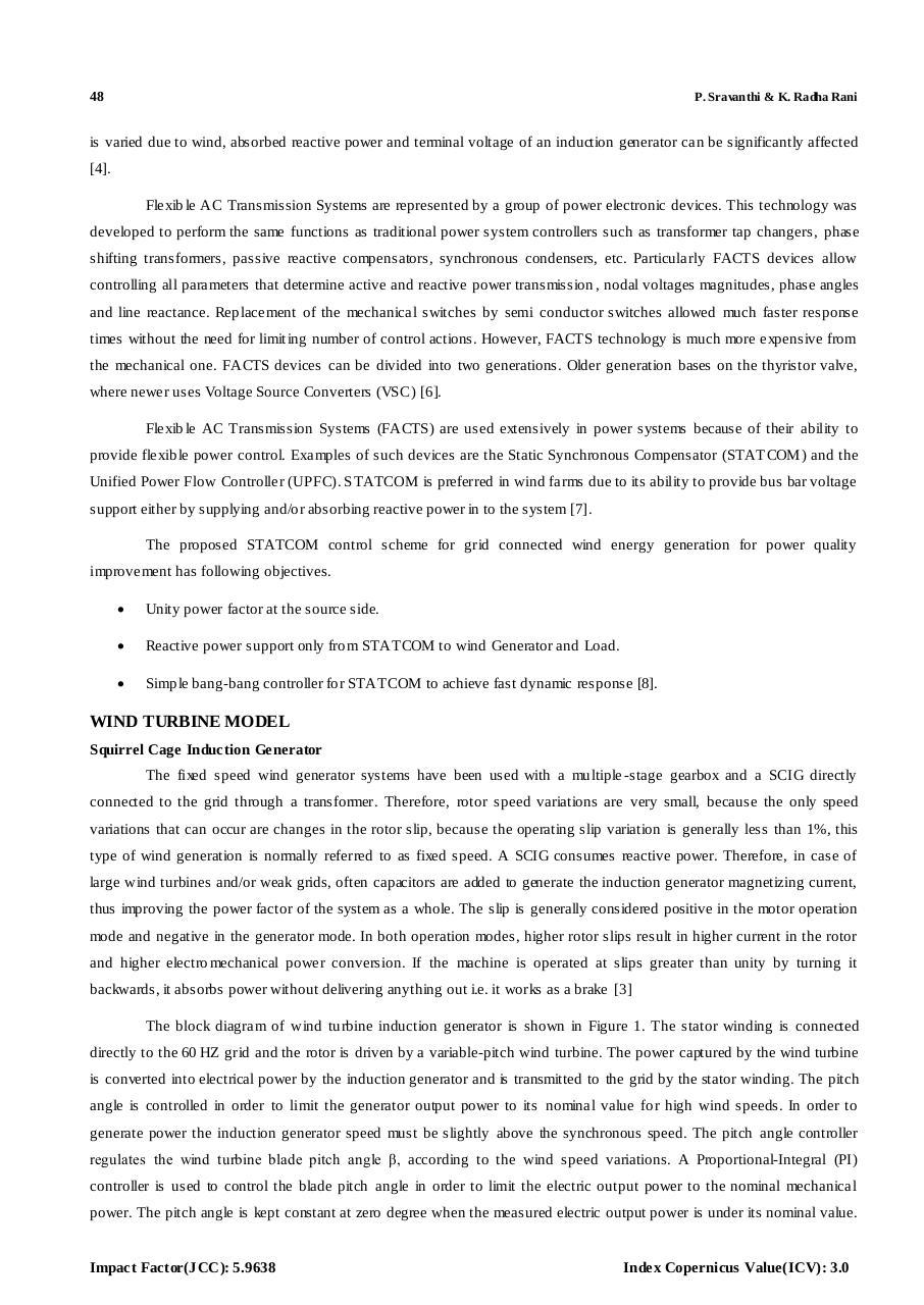 Transient Stability Improvement Of Scig Fichier Pdf Electric Generator Diagram Scigpdf Page 2 12