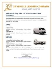 commercial van hire singapore