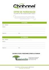 Fichier PDF offre de parrainage 2018