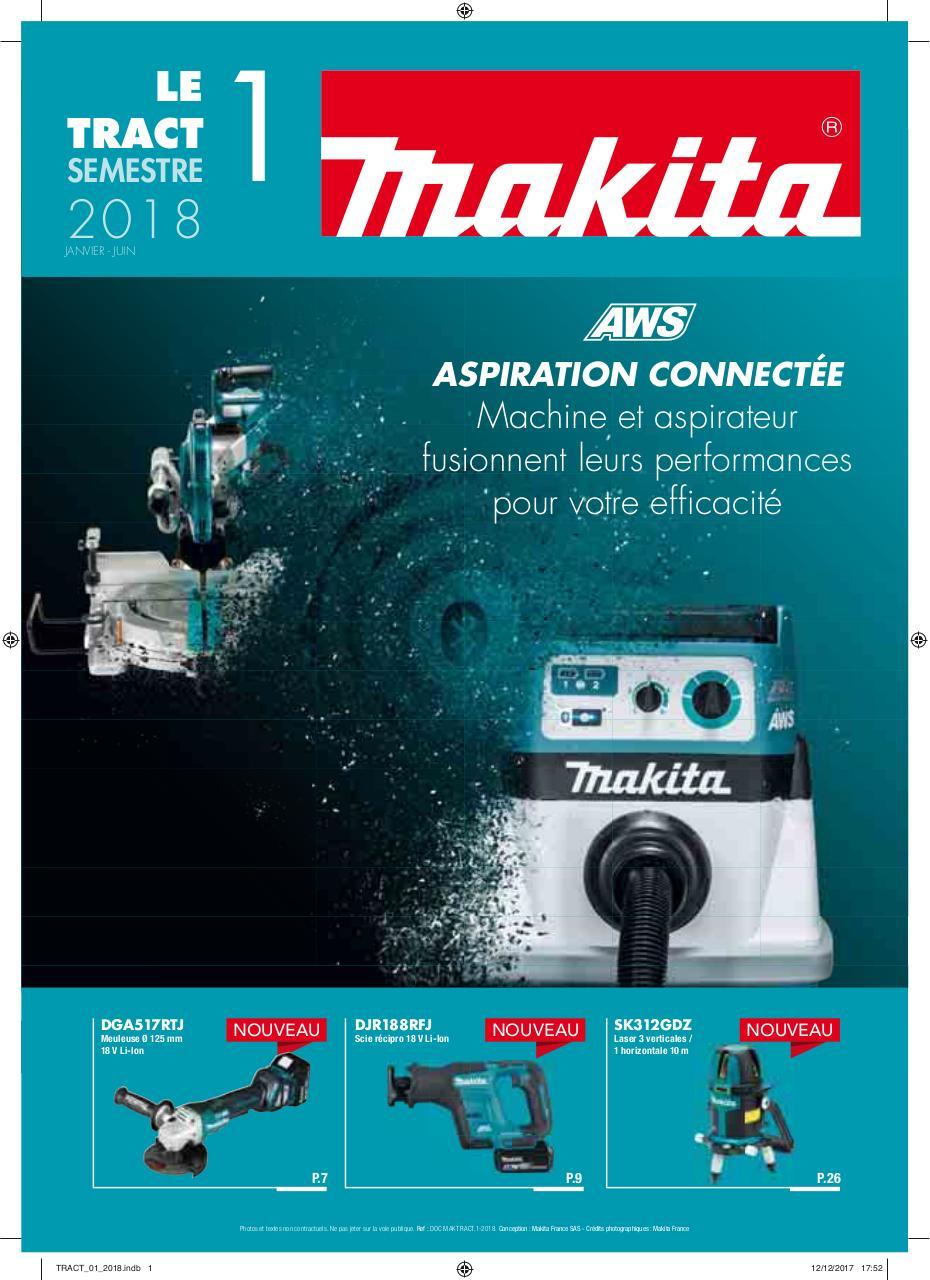 Makita 18v Type 3 puissance Source Chargeur Batterie Makpac Étui DC18RD DC18RC