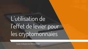 v3 guide leviers margin sur cryptos bitmex max