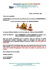 Fichier PDF lettre