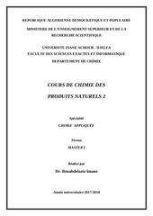 Fichier PDF cours chimie des produits naturels 2