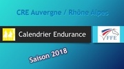 calendrier endurance 2018