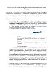 Fichier PDF point sur les ordonnances redigees par les sf 1