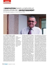 mustapha mezghani manager 05 2017 innovation investissement