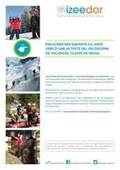 organiser encadrer ski enfants ados