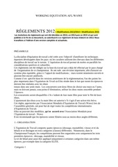 reglement wawe 2012 modifs 2013 2014 et 2015