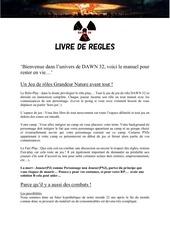 Fichier PDF dawn 32 les regles