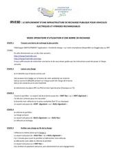 Fichier PDF borne recharge mode operatoire utilisation
