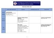 fbls programme 2018