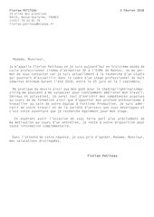 petiteau florian lettremotivation fortiche
