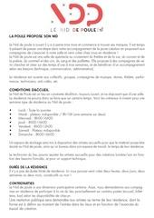 Fichier PDF appel residence ndp