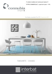 catalogue selection connubia by calligaris 2018 bd