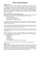 Fichier PDF projet statut club africain francais