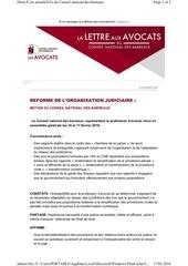 Fichier PDF reforme de l organisation judiciaire motion du cnb