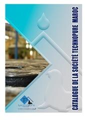 Fichier PDF catalogue technopure maroc