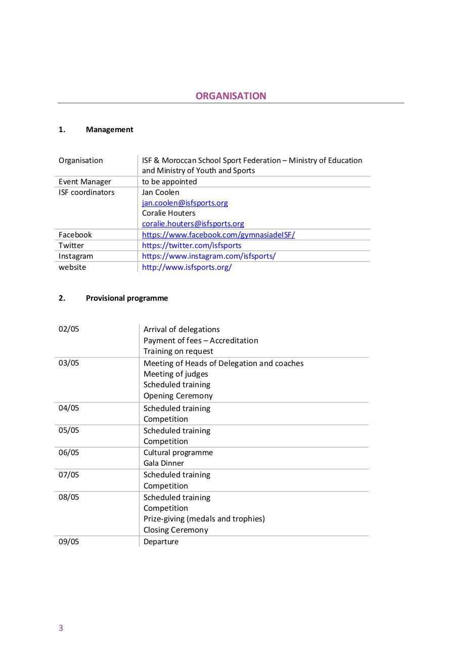 ISF Gymnasiade 2018 bulletin 1 amended par Stefan - Fichier PDF