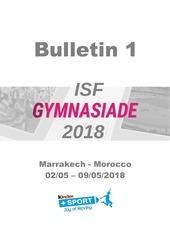 isf gymnasiade 2018 bulletin 1 amended