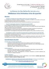 Fichier PDF offre d emploi animateur mediateur mbb 2018