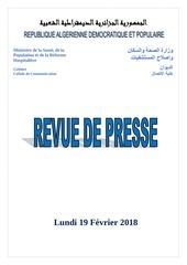 Fichier PDF revue de presse 19 02 2018