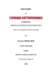 Fichier PDF berberie tome i