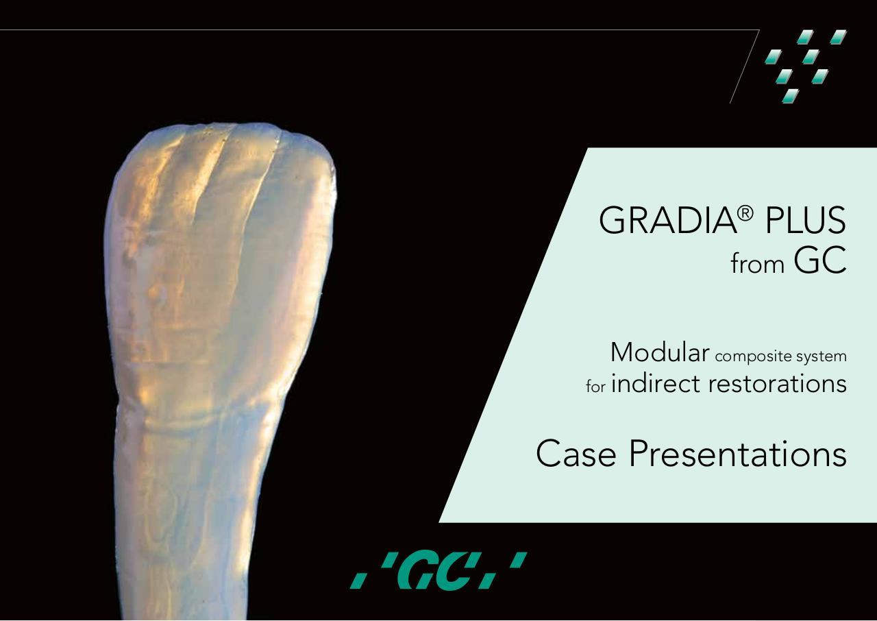 GC GRADIA PLUS Case Presentations,EN,MV,051217.pdf - page 1/32