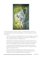 livre de la gnose au transhumanisme editions areopage