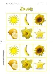 Fichier PDF loto des couleurs