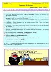 questions processus de gestion serie 1 1