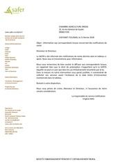 Fichier PDF notif safer chambre agriculture ariege