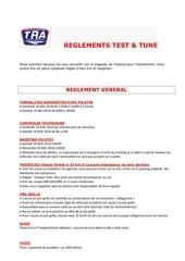 reglement test 1