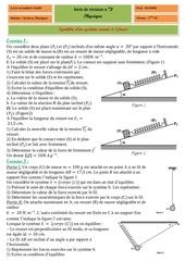 serie 3equilibre d un systeme soumis a 3 forces