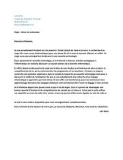 lettre de motivation lav remi